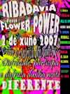 Cartel Fiesta Flower Power